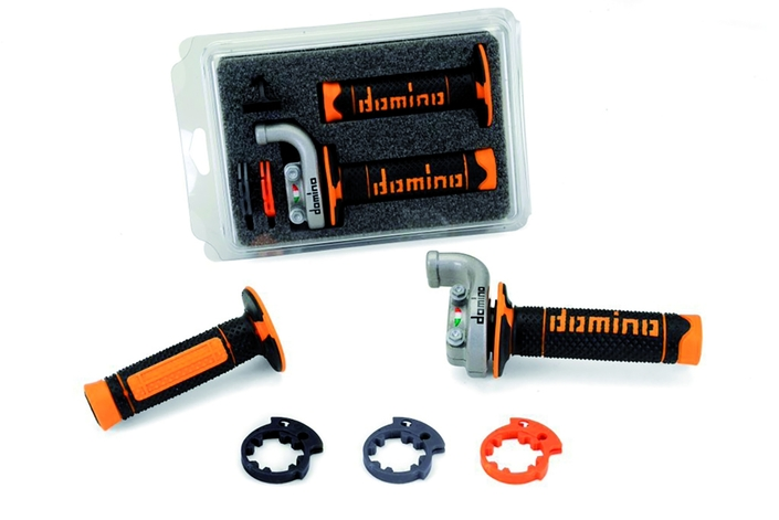 Domino: commande d'accélérateur réglable pour KTM et Husqvarna