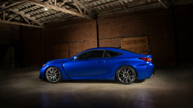 Détroit 2014 - La Lexus RC F en fuite!
