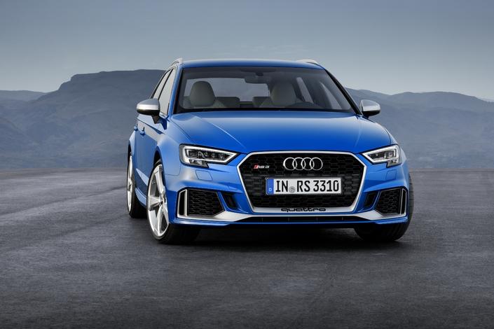 Audi RS3 Sporback restylée: un prix de 61500€