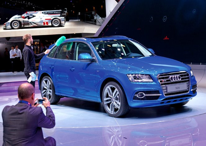 En direct du Mondial de Paris 2012 : Audi SQ5 TDI Exclusive concept