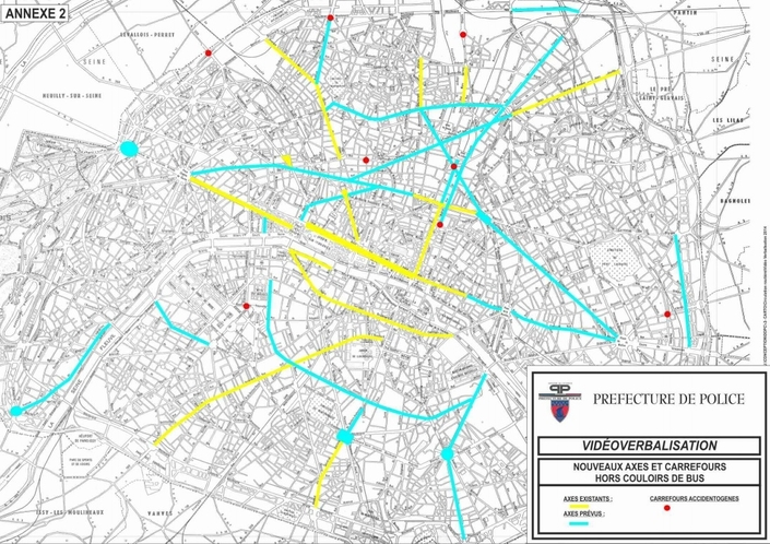 Vidéoverbalisation à Paris - Quellesinfractions? Où? Peut-on les contester?