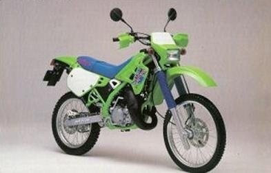 20 ans déja : La 125 KDX Kawasaki
