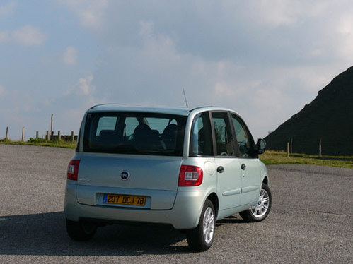Changements limit s l 39 int rieur for Interieur fiat multipla