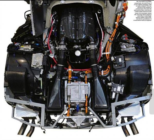 Ceci est (une partie de) la Ferrari F70