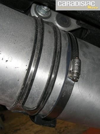 Essai protection d'échappement R&G Racing : descriptif.