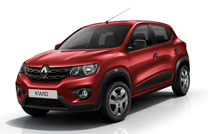 La Kwid pourrait devenir l'une des meilleures ventes mondiales de Renault. Succès en Inde, elle arrivera bientôt au Brésil.