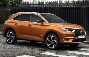 Le DS 7 Crossback.