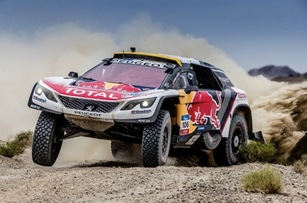 Peugeot en rallye-raid.
