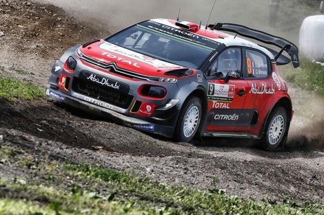 Citroën est revenu en WRC cette année.