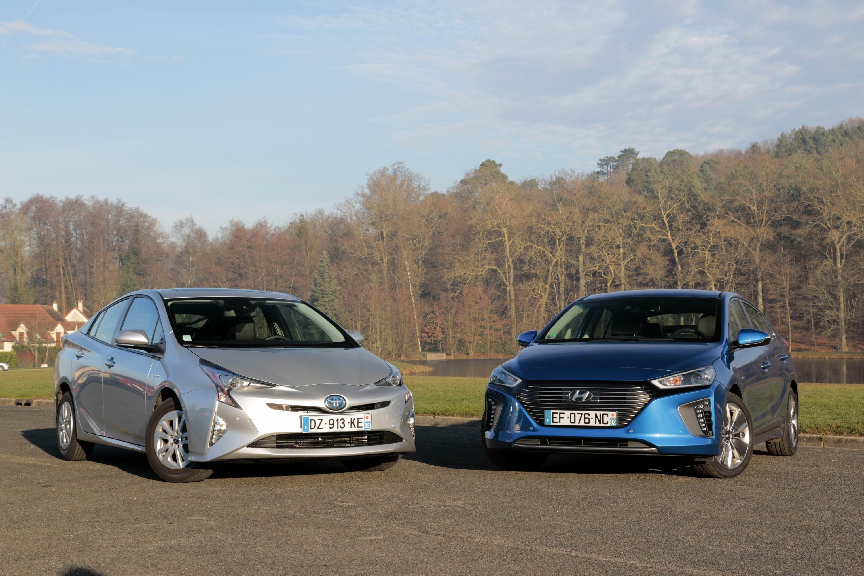 Comparatif Voiture Hybride >> Comparatif Video Toyota Prius Vs Hyundai Ioniq Hybrid La