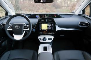La Prius, différente à l'extérieur comme à l'intérieur.
