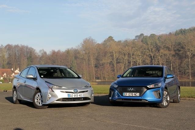 Comparatif vidéo - Toyota Prius vs Hyundai Ioniq Hybrid, la référence contre un challenger de poids