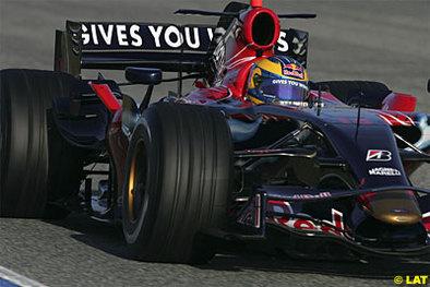 Formule 1: Toro Rosso débutera la saison avec la monoplace 2007