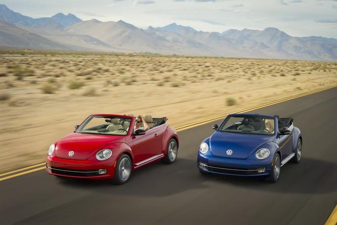 Los Angeles 2012 : VW Coccinelle Cabriolet officielle