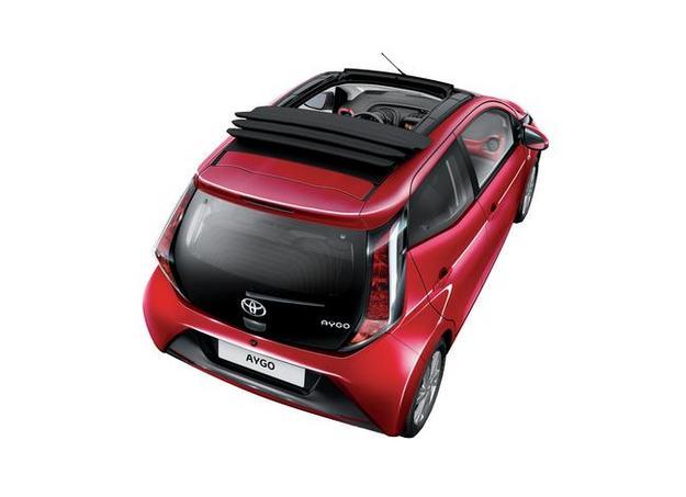 Toyota lance l'Aygo x-wave découvrable