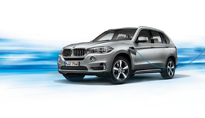 BMW X5 xDrive 40e, premier hybride rechargeable de la marque