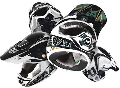Kali Prana Carbone: casque haut de gamme pour le TT.