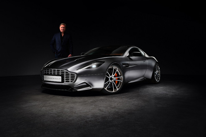 Thunderbolt : l'Aston Martin Vanquish unique d'Henrik Fisker