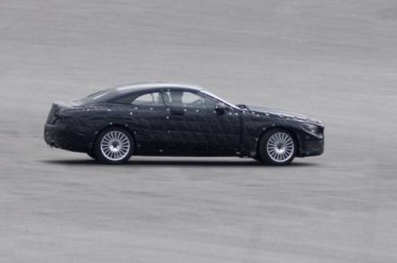 La future Mercedes Classe S cabriolet surprise