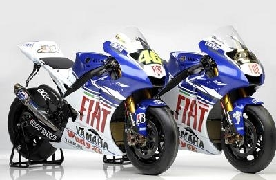Moto GP - Yamaha: La YZR M.1 2008 est arrivée !