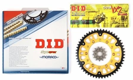 D.I.D et Supersprox: ensembles pour votre kit-chaîne