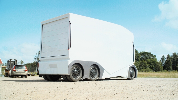 Et si les premières vraies voitures autonomes étaient des... camions?