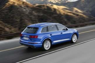 Les commandes de l'Audi Q7 sont ouvertes à partir de 56 350 €