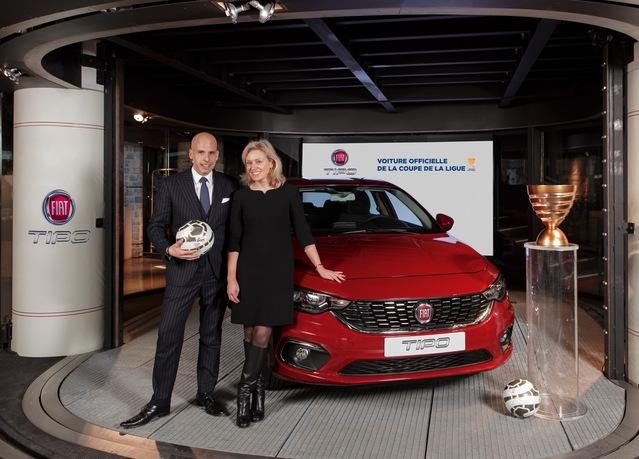 Football: la Fiat Tipo devient la voiture officielle de la Coupe de la Ligue