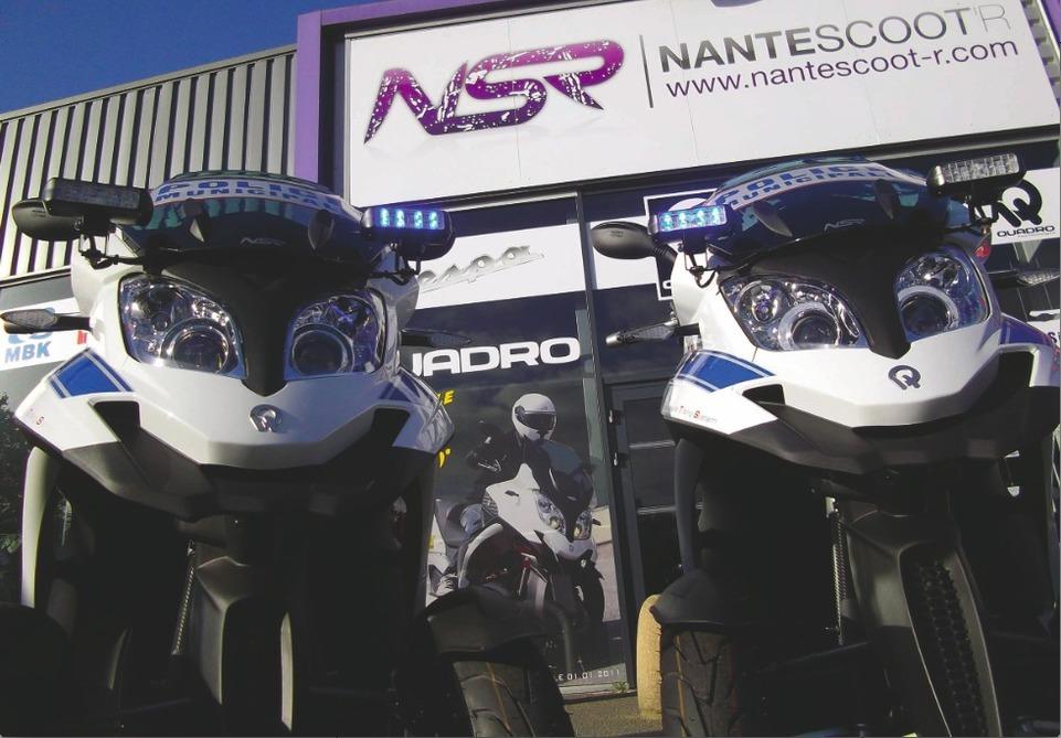 Quadro : la police municipale de Nantes s'équipe de deux 350S