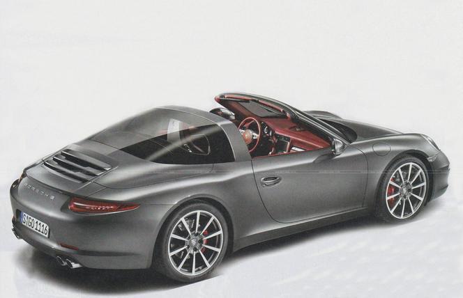 Détroit 2014 - La Porsche 911 Targa en fuite? Ne vous laissez pas abuser!