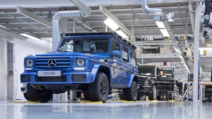 Mercedes Classe G: la barre des 300000
