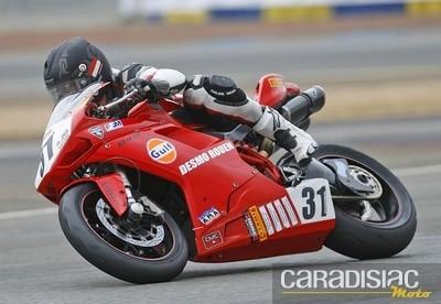 Coupe de France Top Twin et Challenge 848 au Mans: Ludovic Baudry et Romain Tarallo s'installent en tête.