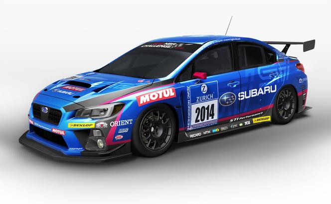 Tokyo Auto Salon 2014 : la Subaru WRX STI pour les 24h du Nürburgring