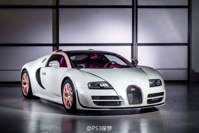 Bugatti Veyron Grand Sport Vitesse Cristal Edition : ça ne pouvait pas être la dernière