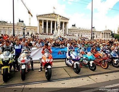 Moto GP - République Tchèque: Première démonstration en Autriche