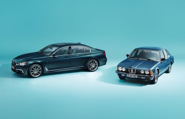 Salon de Francfort 2017 - BMW Série 7 Edition 40 Jahre: pas de crise