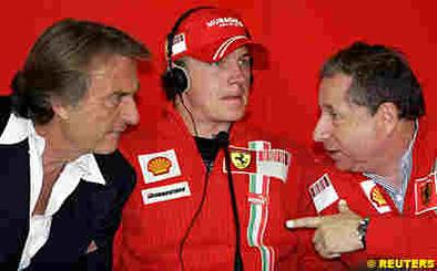 Formule 1 - Ferrari: Deux absents, un présent et un départ pour la présentation de la F2008