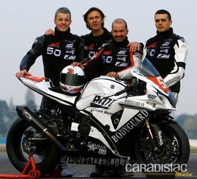 Toujours deux motos en championnat du monde d'endurance pour le Team Motors Events.