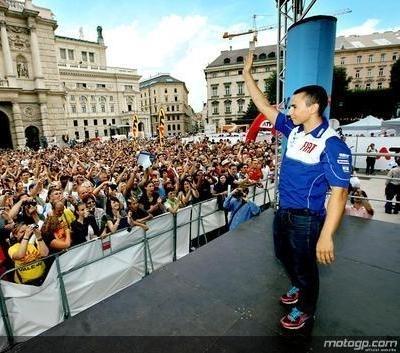 Moto GP - République Tchèque: Lorenzo parle de Stoner et du championnat