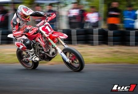 Supermotard, championnat de France 2013: Bidart pour la 6ème fois