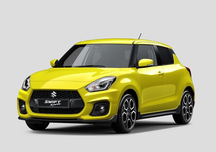 Salon de Francfort 2017 : 140 ch et moins d'une tonne pour la Suzuki Swift Sport