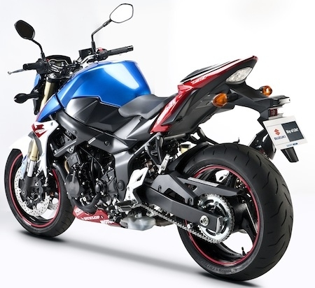 Suzuki met à l'honneur le SERT: GSR 750 SERT Edition