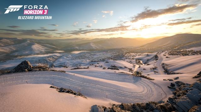 Forza Horizon 3 blizzard moutain, tout le monde à la neige ! (DLC)