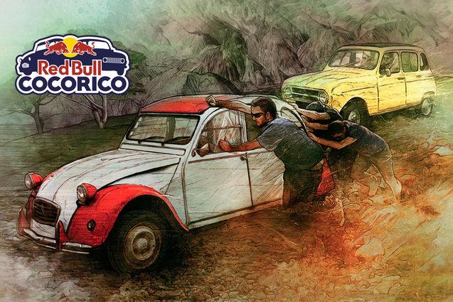 Red Bull Cocorico : en 4L ou en 2CV des Alpes à la Côte d'Azur