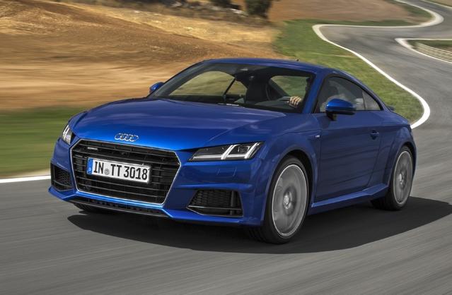 Audi TT: le diesel disponible en version quattro