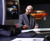 La tête du Design Land Rover change