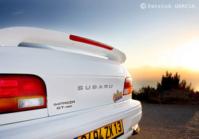 Double test : Subaru Impreza GT 1995 vs Subaru Impreza WRX 2008 2/3