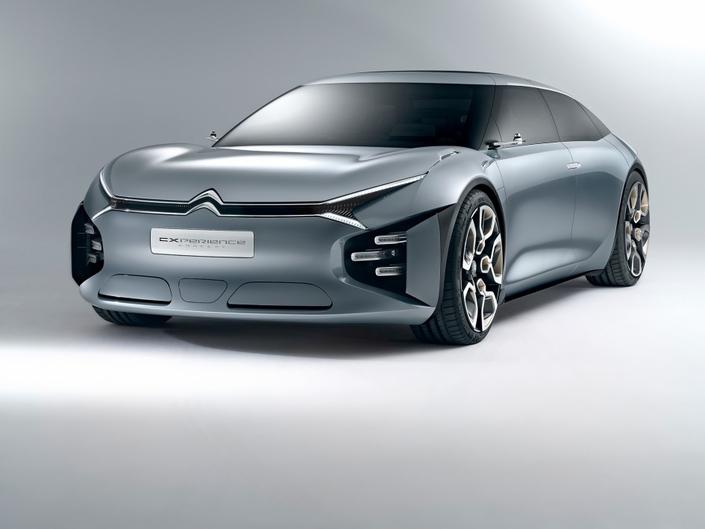 Le concept CXPérience de 2016 préfigure la future grande berline des chevrons.
