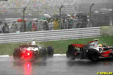 Formule 1: Les pilotes inquiets d'affronter la pluie sans contrôle de traction