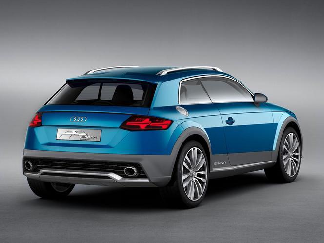 Détroit 2014 - Le concept Audi en fuite